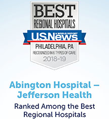 Abington Hospital Ranked 13th Best Hospital in PA by U S